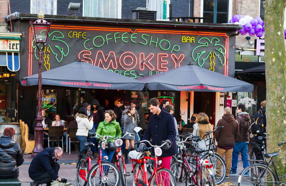 Amsterdam Mayor Wants to Block Tourists From Cannabis Coffee Shops