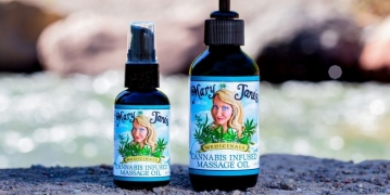 mary janes medicinals body massage oil