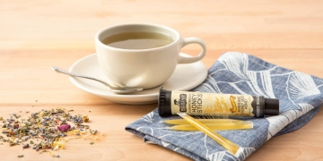 mountain medicine honey stick and tea